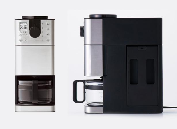 MUJI 無印良品 豆から挽けるコーヒーメーカー