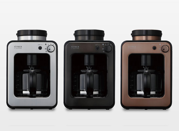 siroca crossline 全自動コーヒーメーカー