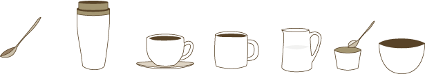 コーヒーウェア