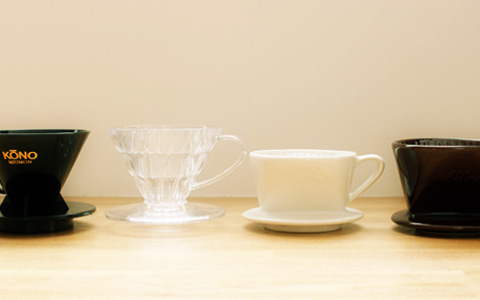 コーヒーミルドリッパーの種類と比較、選び方