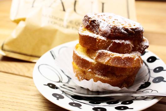 フランス老舗のパン屋さんPAULのパン・ペルデュ