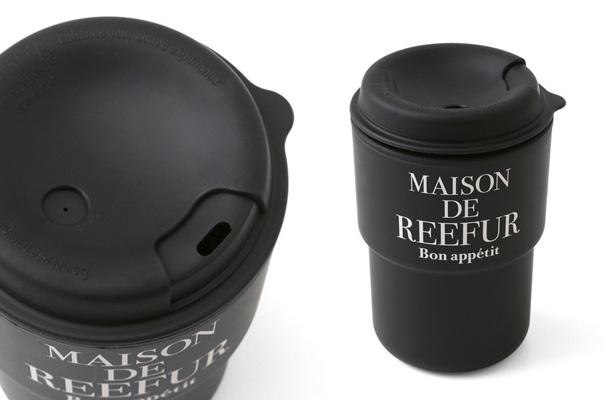 MAISON DE REEFURのORIGINAL TO GO TUMBLER ブラック