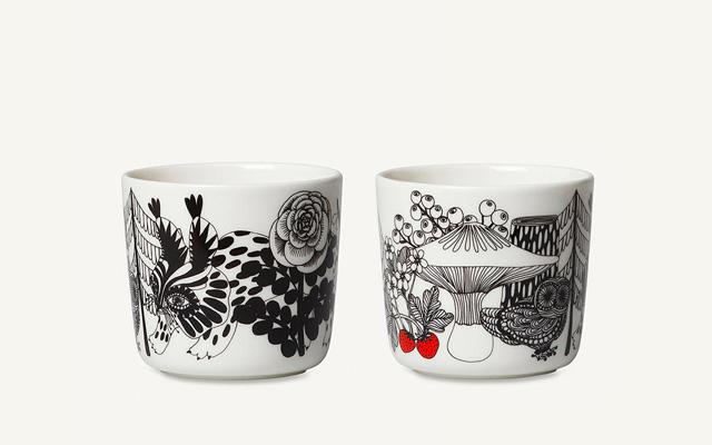 marimekko(マリメッコ)Verhekset(ヴェルイェクセトゥ/ブラザーズ)コーヒーカップセット