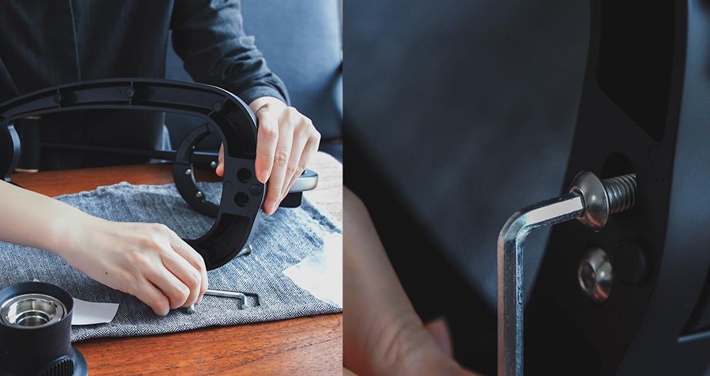 Flair Espresso 58xとPRO2 ポルターフィルター