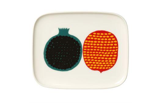 marimekko(マリメッコ)の新シリーズ「Oiva Kompotti」の皿
