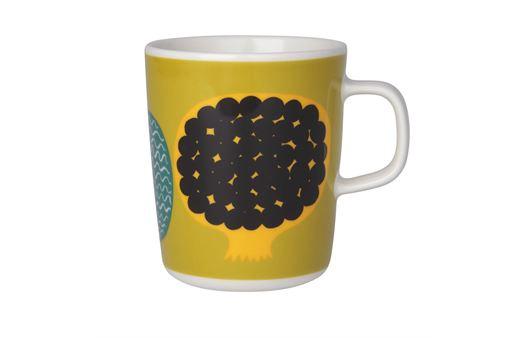 marimekko(マリメッコ)の新シリーズ「Oiva Kompotti」のマグカップ