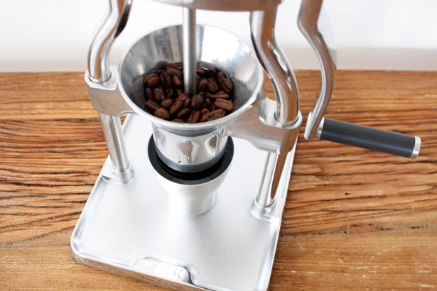 The revolutionary ROK coffee grinder