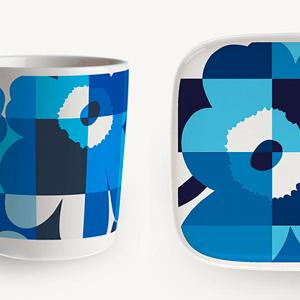 マリメッコのRuutu-Unikko(ルーツウニッコ)、新色は爽やかなブルー!