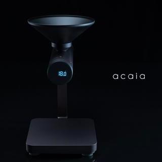 acaia(アカイア)から、新しいコーヒースケール『Orion Bean Doser™』登場。超〜かっこいいです。