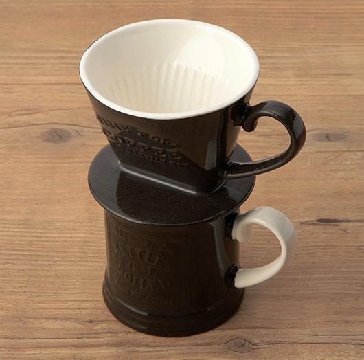 アフタヌーンティー × 岡尾美代子 CH90 コーヒードリッパーとマグカップ