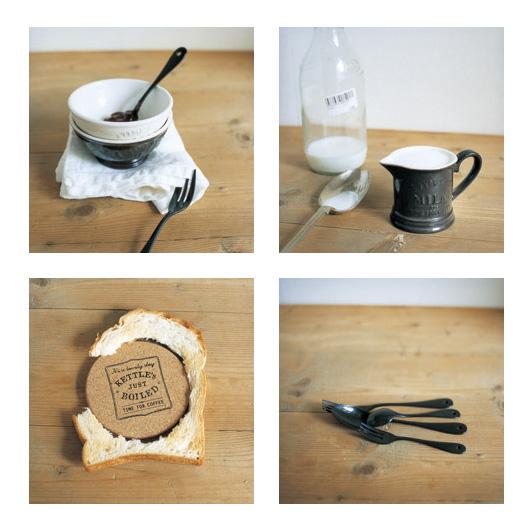 【Afternoon Tea × 岡尾美代子】クラシカルなコーヒーアイテムたち  コーヒードリッパー・マグカップ・ミルクピッチャー・キャニスター
