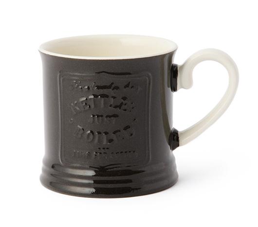 アフタヌーンティー × 岡尾美代子 CH90 マグカップ ブラック