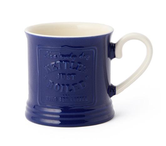 アフタヌーンティー × 岡尾美代子 CH90 マグカップ ブルー