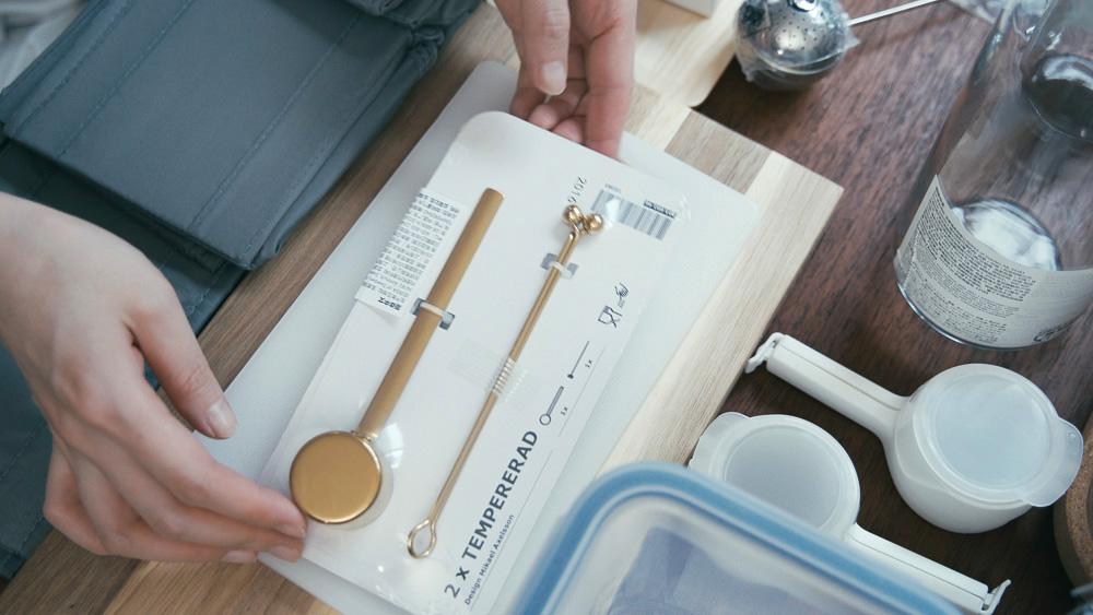 わたしの愛用品 IKEAの購入品 コーヒーメジャー&クリップ