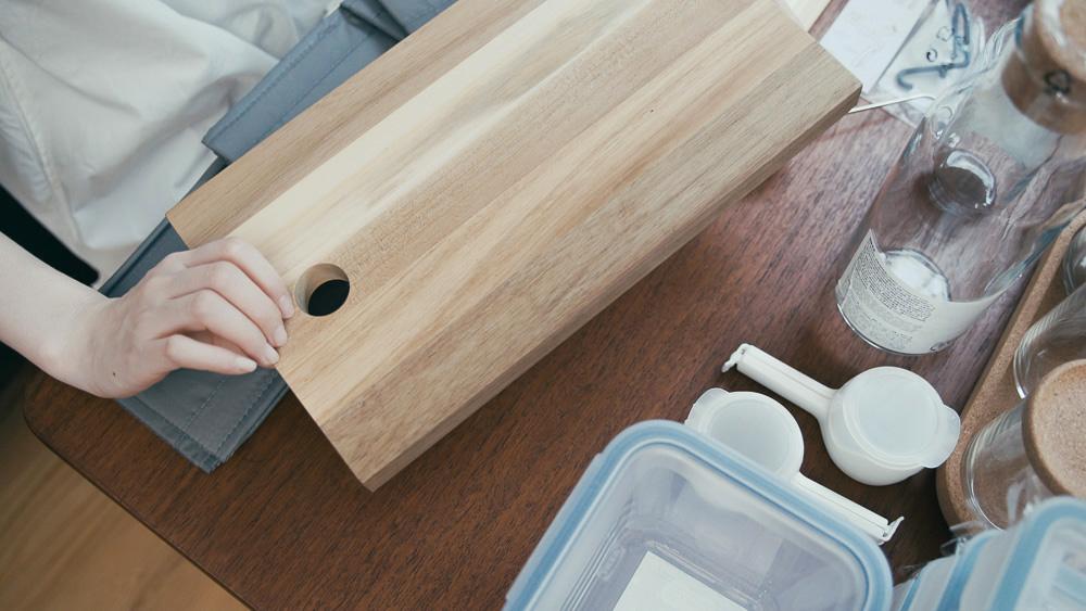 わたしの愛用品 IKEAの購入品 まな板
