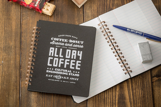 ALL DAY COFFEE コイルノート