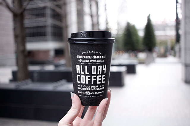 ALL DAY COFFEE メープルラテ