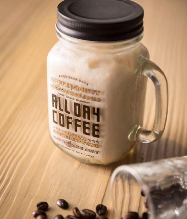 ALL DAY COFFEEのオリジナルドリンキングジャーがかわいい!