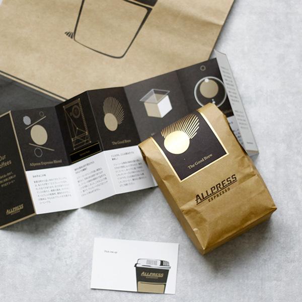 Allpress Espresso / オールプレスエスプレッソ 新ブレンドのコーヒー豆『The Good Brew』