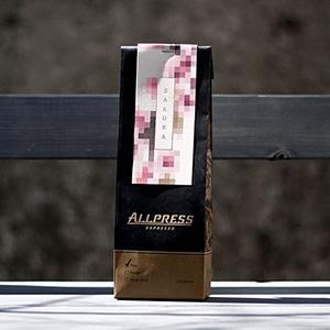 ニュージーランド発、オールプレス・エスプレッソ  限定コーヒー豆『SAKURA』