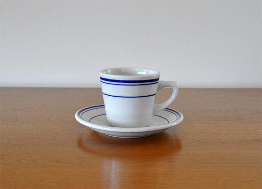 AMERICAN DINER WEAR(アメリカンダイナーウェア)のコーヒーカップ&ソーサー ブルー
