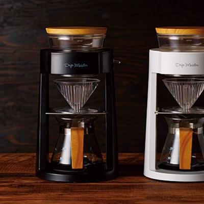 まわるコーヒードリップメーカー『ドリップマイスター』が、斬新。
