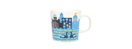 2012年限定 ARABIA(アラビア)Home Town Mug(ホームタウン マグ)シー