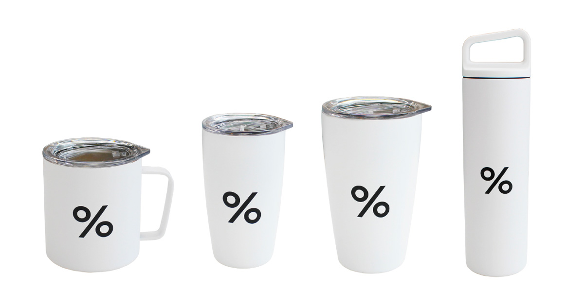 % ARABICA(アラビカ)タンブラー・マグカップ