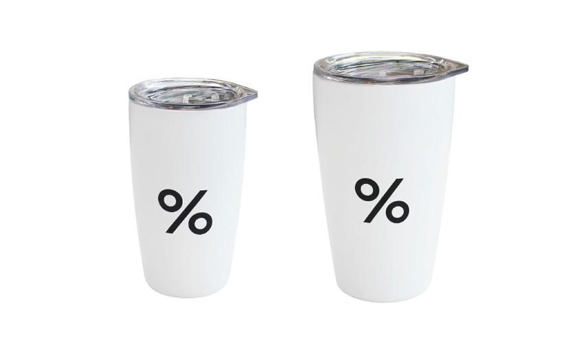 %ARABICA タンブラー % 8oz Tumbler/% 12oz Tumbler