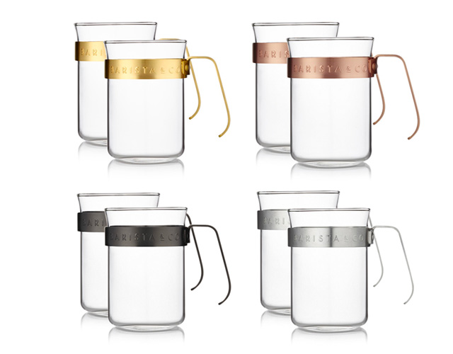 BARISTA & CO(バリスタアンドコー)Metal Framed Cups(メタルフレームカップ)