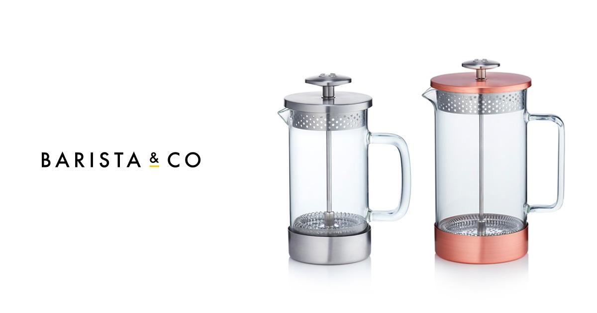 BARISTA&COから、新デザインのコーヒープレス  【コア・コーヒープレス】が登場!