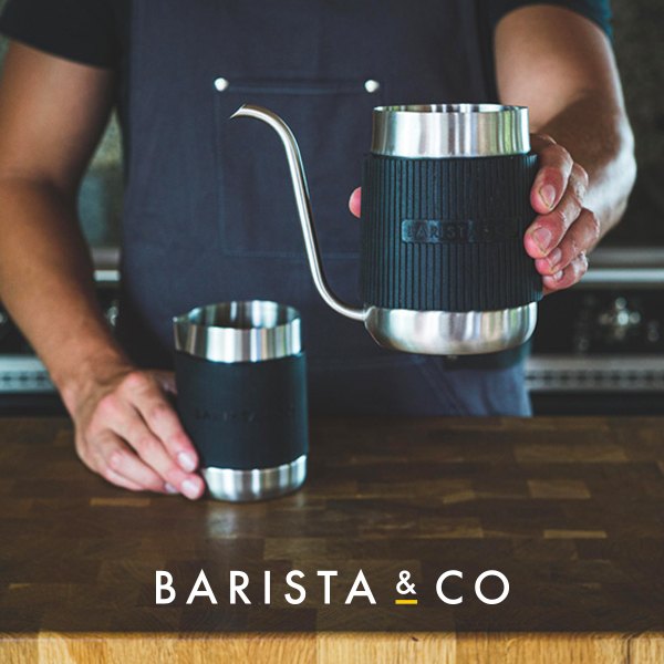 BARISTA&COから、コンパクトなドリップポット 【Shorty Pour Over Jug】が発売。