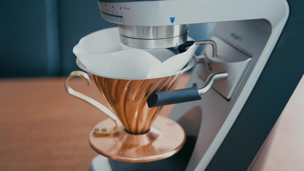 BARATZA バラッツァ コーヒーグラインダー ドリッパーをセット