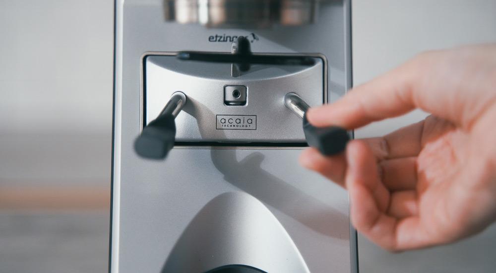 BARATZA バラッツァ コーヒーグラインダー 重さを設定
