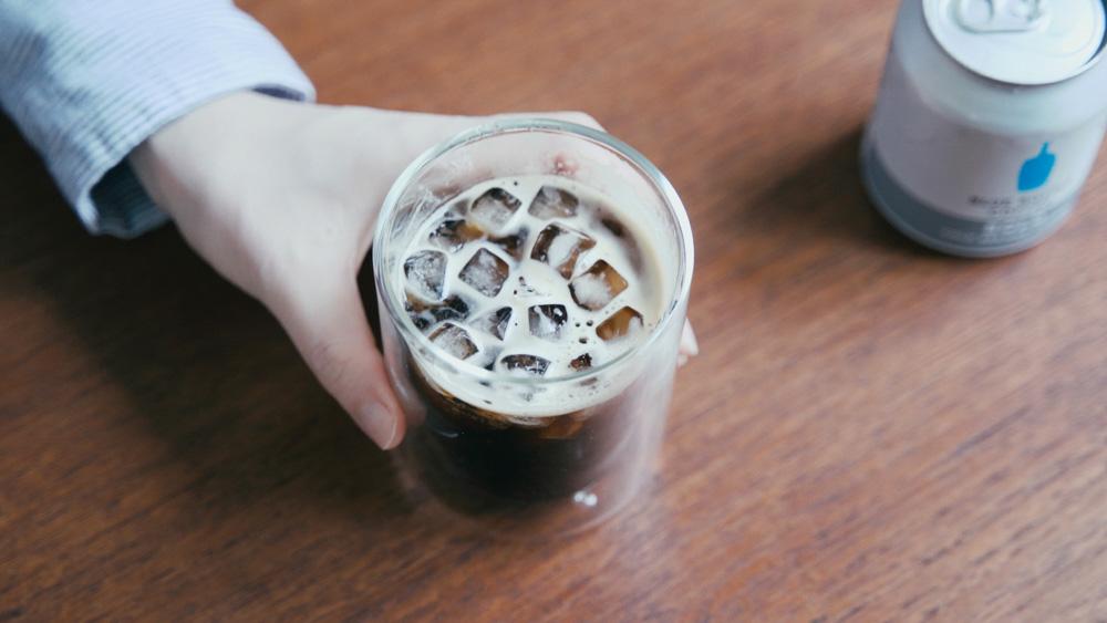 ブルーボトルコーヒーの缶コーヒー ボールド
