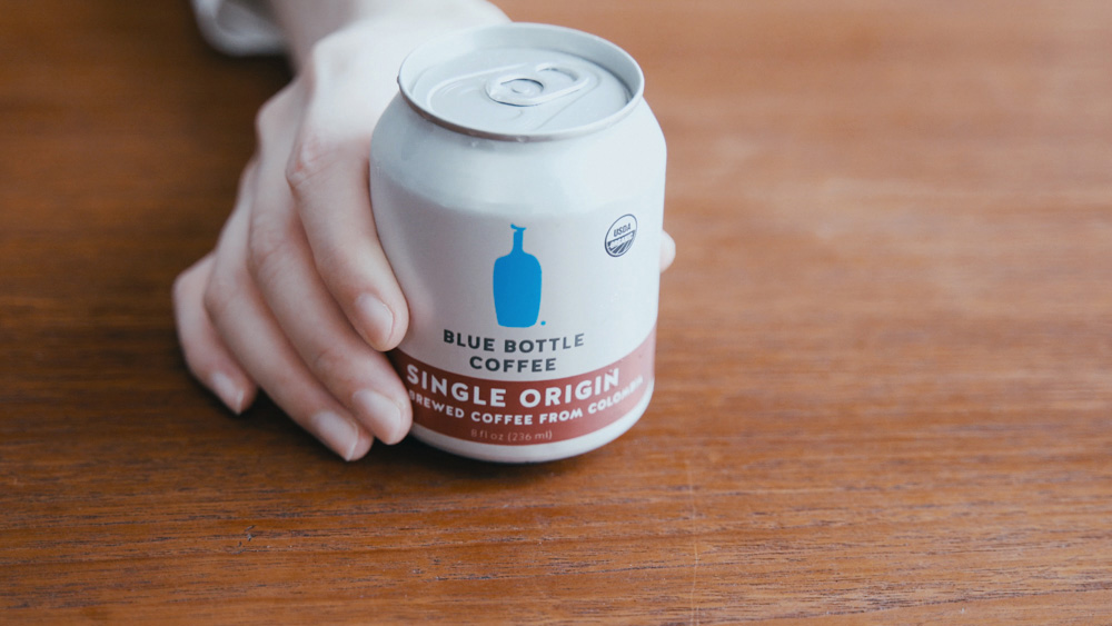 ブルーボトルコーヒーの缶コーヒー