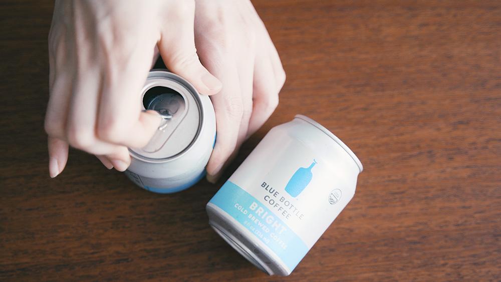 ブルーボトルコーヒーの缶コーヒー ブライト