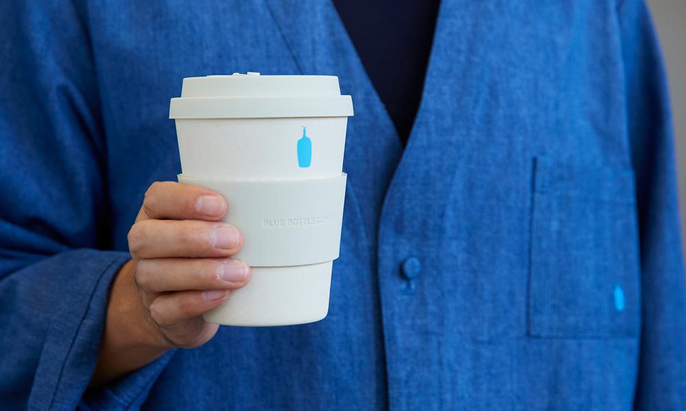 ブルーボトルコーヒー 環境に配慮したエコカップ