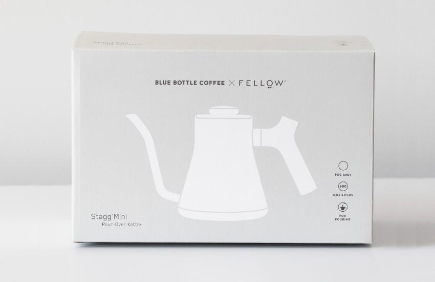 BLUE BOTTLE COFFEE × FELLOW/フェロー スタッグ ミニ ポア オーバー ケトル