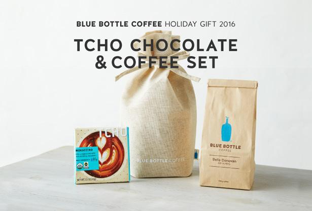 Blue Bottle Coffee(ブルーボトルコーヒー)ホリデー限定 TCHO チョコレート&コーヒー セット