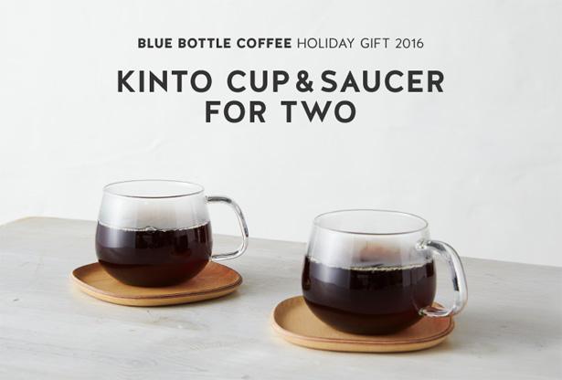 Blue Bottle Coffee(ブルーボトルコーヒー)ホリデーKINTO カップ&ソーサー ペアセット