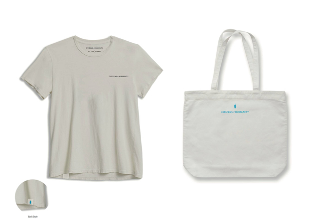 BLUE BOTTLE COFFEE × Citizens of Humanityのコラボイベント オリジナルグッズ