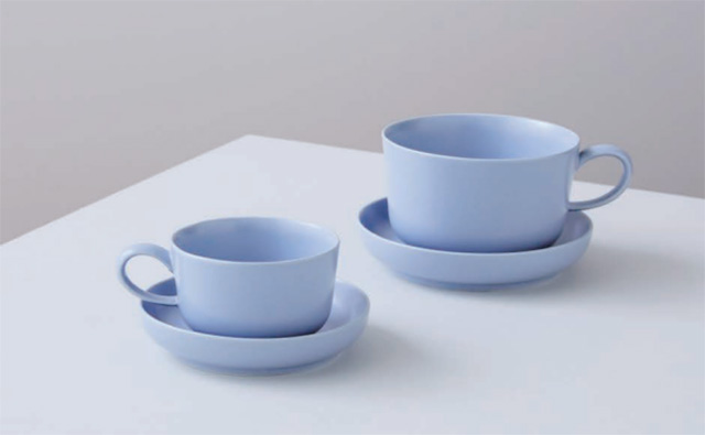 BLUE BOTTLE COFFEE ブルーボトルコーヒー イイホシユミコ Cup & Saucer Set