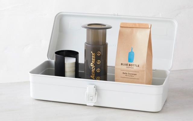Blue Bottle Coffee Tool Box ブルーボトルコーヒー ツールボックス エアロプレスセット