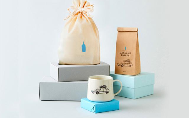 BLUE BOTTLE COFFEE ブルーボトルコーヒー オンラインストア限定 オークランドライツとホリデーマグのセット