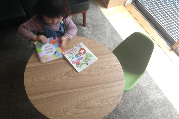イームズ 子供用キッズテーブルとチェア