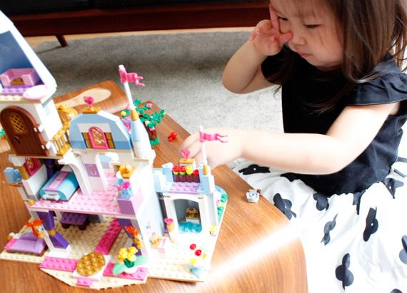 商品の詳細 レゴ ディズニープリンセス シンデレラの城