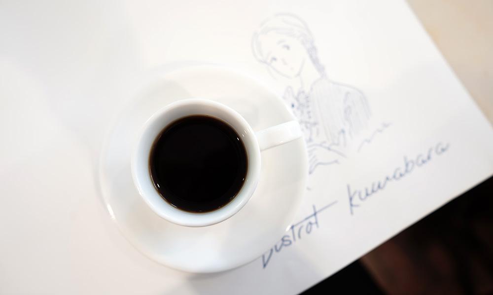 ビストロ クワバラ コーヒー