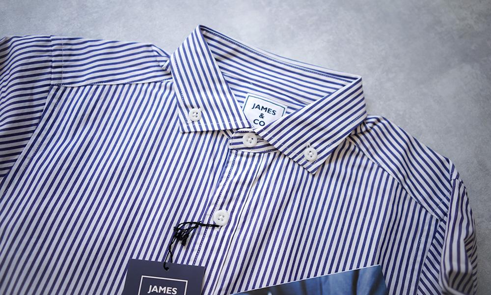 JAMES & CO スタンダードシャツ
