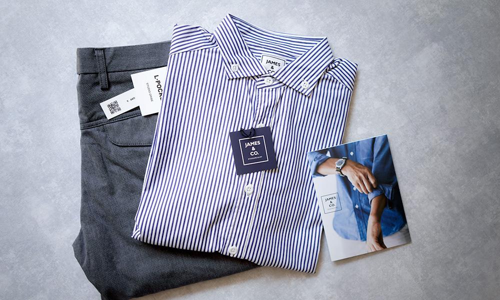 JAMES & CO 鎌倉のシャツ・スタジオオリベのパンツ